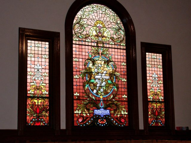 UUCSP Stained Glass Windows